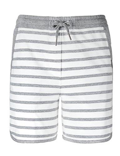 Marc Cain Sports Damen Shorts GS 83.05 J46 Grau (Grey 820)