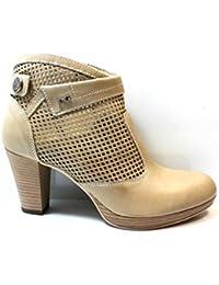 Swallowuk Scarpe selvagge estive, scarpe diamantate piatte con un sandalo a punta aperta (36, Argento)