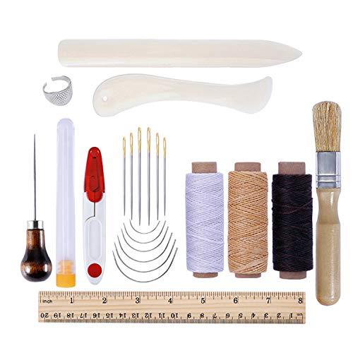 Appliance Pull Natürlichen (Multifunction Fun, DIY Lederwerkzeugset, Einsteigerset, Lederkunst handgenäht, handgemacht, Household suit)