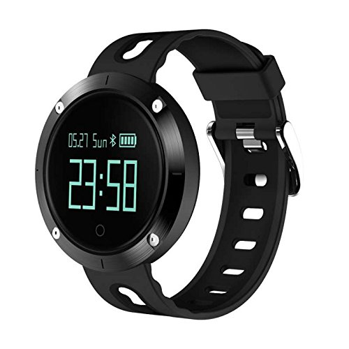 Fitness Tracker Smart Wristband Bracelet Kalorienzähler,Aktivitäts Tracker Schrittzähler Schlafanalyse Kalorienzähler Anruf/ SMS Outdoor Sports Multifunktions Smart uhr,für iPhone IOS und Android Smartphones
