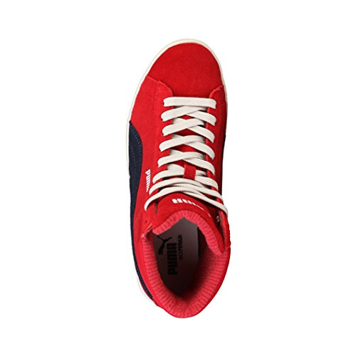 PUMA Lite Mid Suede Sneaker 356426 Rot