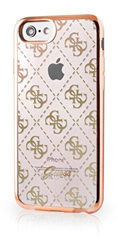 Guess GUHCP7TR4GRG 4G TPU Schutzhülle für Apple iPhone 7 rose gold gold