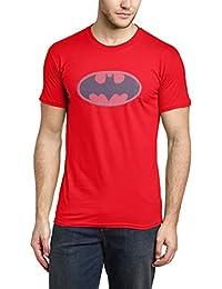 Dc Comics Batman Batman Colour Logo 8 - Camiseta con manga corta para hombre