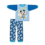DISNEY, MICKEY MOUSE - Pijama entero - para bebé niño Azul azul