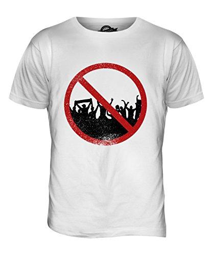 CandyMix Agorafobia T-Shirt da Uomo Maglietta Bianco