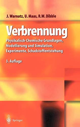 Verbrennung: Physikalisch-Chemische Grundlagen, Modellierung und Simulation, Experimente, Schadstoffentstehung