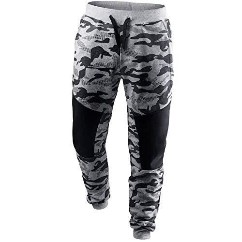 Subfamily-Pantalon de Couleur Unie Pantalons décontractés Camouflage  Pantalons pour Hommes Sport Sweatpants Sarouels Élasticité cb9ac1b824d