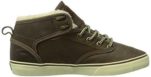 Globe Motley Mid Fur, Chaussures de skateboard homme Marron (Toffee/Ash Fur)