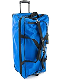 "Aerolite, garantie de 3 ans, Petit 20 "", noir, ultra léger en tissu épais polynylon 840denier, extensible Flight Bag Trolley Valise, 70 x 25 x 43 x 3.3kg 75L"