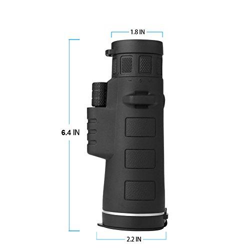 Kimfoxes Monokulare 35×50 Teleskop hohe Leistung Teleskop Zoom Outdoor Wasserdicht tragbaren Hochleistungs Weitwinkel-Objektiv für die Jagd Camping Wandern - 2