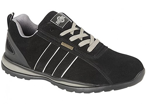 HOLMAN Mens Safety Steel Toecap Lightweight Lace up Work Shoe Trainer