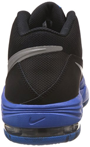 Nike Air Max Emergent, Chaussures de Sport-Basketball Homme, Blanc, 42 EU Multicolore - Azul / Plata / Negro (Gm Royal / Mtllc Slvr-Blk-Pht Bl)
