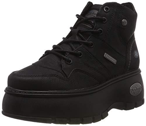 Dockers by Gerli Damen 43DR202 Hohe Sneaker, Schwarz 620100, 39 EU