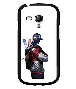 printtech Pop Cool Dude Music Back Case Cover for Samsung Galaxy S3 Mini::Samsung Galaxy S3 Mini i8190