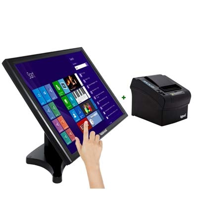 iggual KIT Monitor Táctil 19 + Impresora térmica