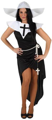Atosa 6054 - Costume suora sexy Donna, taglia: 38 - 40