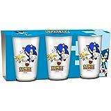 Sonic Gläser 3er Set [Importación alemana]