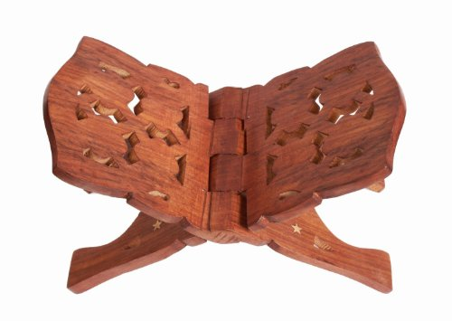 a-folding-book-stand-holder-made-from-mango-wood-beautifully-intricately-hand-carved-birthday-or-hou