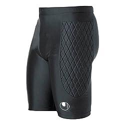 Jako Torwart Underwear Tight Torwarttights gepolstert Funktionshose schwarz 8986