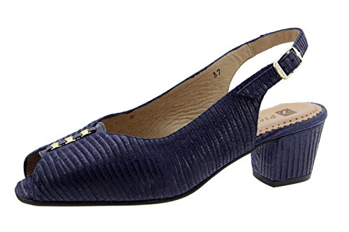 Scarpe donna comfort pelle Piesanto 6011 sandali comfort larghezza speciale