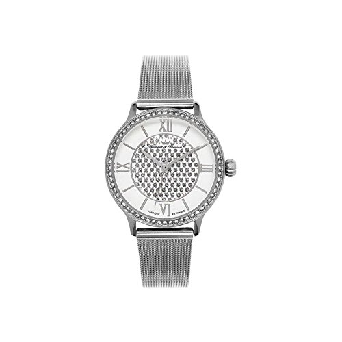 Orologio donna Yonger & Bresson bianca e argentata–DCC 096s-fm