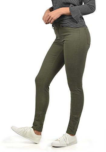 ONLY Lara Super Stretch Damen Jeans Denim Hose Röhrenjeans Aus Stretch-Material Skinny Fit, Farbe:Grape Leaf, Größe:M/ L32