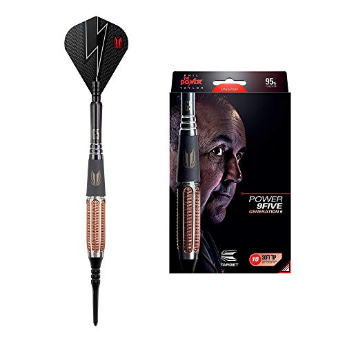 Target Darts Phil Taylor Power 9-Five 5. Generation 18G Wolfram Softdarts-Set Dartpfeile