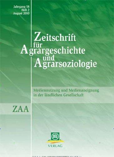 Zeitschrift für Agrargeschichte und Agrarsoziologie [Jahresabo]
