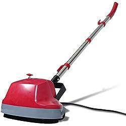 VidaXL 250471 400RPM Rojo pulidor de suelo - Pulidora (180 W, Rojo)