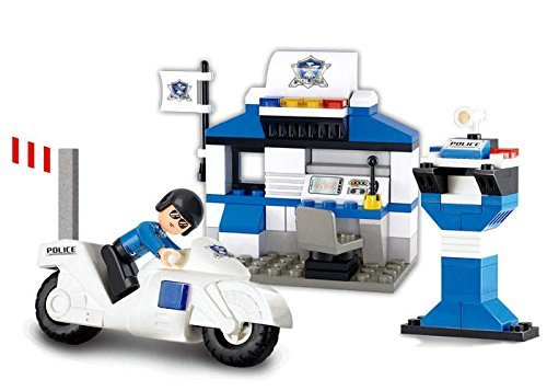Sluban Lego City Police Station  available at amazon for Rs.449