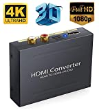 Tobo HDMI to HDMI & Optical SPDIF + RCA L/R 1080P Audio Extractor Converter Splitter.