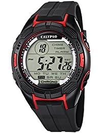 Calypso  watches K5627/3 - Reloj de pulsera hombre, plástico, color negro