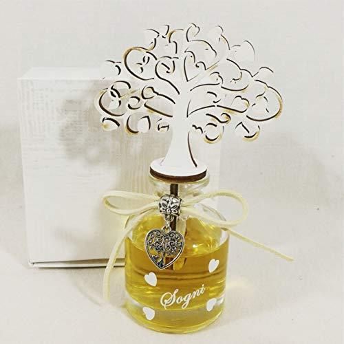 Bomboniere comunione femmina albero della vita, cuore al centro