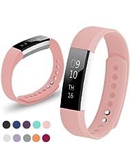 Kutop für Fitbit Alta HR Armband, TPU Soft Silikon Sport Fitness Ersatzband Silikagel Verstellbares Uhrenarmband für Fitbit Alta HR