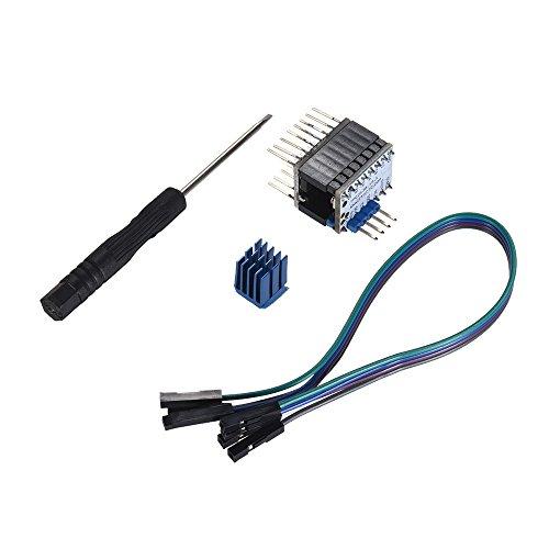 aibecy tmc2130V1.1Stepper Treiber Modul Board high-subdivision Dämpfer Motor Drive Unterstützung SPI Port Kontrolle 3D Drucker Teile (Dämpfer Motor)