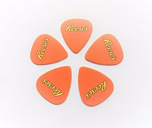 reeses-hershey-s-hersheys-chocolate-stampato-plettro-plettri-set-di-5