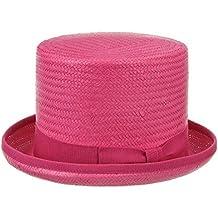 Rom Cappello Cilindro in Paglia cappelli di paglia cappelli da sole 59 cm -  fuchsia 8f5df09f9a15
