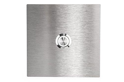 Huber - Timbre LED para pared de 1Compartimento