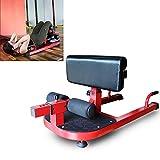 MLQ Máquina de Sentadillas Multifuncional, Equipo de Entrenamiento para Ejercicios de Fitness, 6 Posiciones de Engranaje Ajustables, Adecuado para Ejercicios de piernas, Ejercicios de Cardio