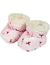 Shopolica New Born Baby Bootie Shoes With Fur For Boys & Girls