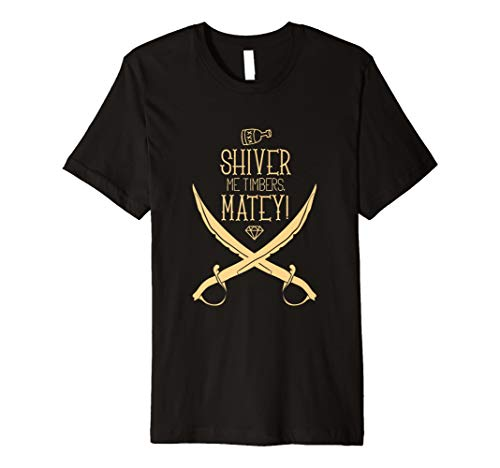 (AHOY ! Shiver me timbers. Matey Pirate shirt - Wear)