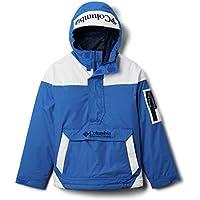 Columbia Youth Challenger Suéter, Unisex niños, Azul, Blanco (Bright Indigo, White, Coll Navy), M