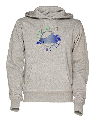 Jergley Bluegrass State w Unisex Grau Sweatshirt Kapuzenpullover Herren Damen Größe XXL   Unisex Sweatshirt Hoodie for Men and Women Size XXL