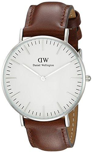 Daniel Wellington Damen-Armbanduhr St Andrews Analog Quarz Leder DW00100052