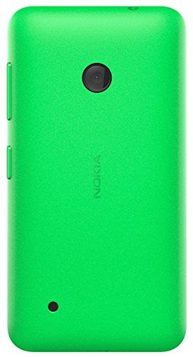 Hard Shell Schutzhülle (Nokia Hard Shell Clip-On Schutzhülle Case Cover für Nokia Lumia 530 - Leuchtend Grün)