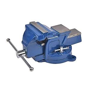 Cogex 64015 – Tornillo de banco con base giratoria (fundición)