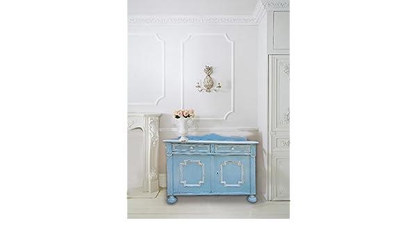 Bagno Shabby Chic Azzurro : Facilcasa credenza mobile stile shabby chic colore azzurro stile
