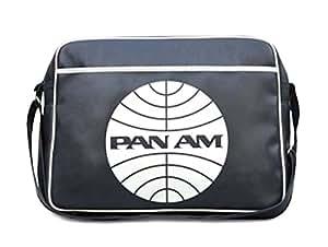 Sports Bag - PAN AM - Retro Airline Shoulder Bag - Blue