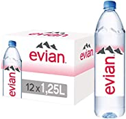 Evian Natural Mineral Water, 1 X 1.25 Liter - Pack of 1