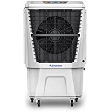 SEASON Climatizador nebulizador Ventilador evaporativo Gran caudal 4.500 m3/h depósito de Agua 40 ltrs